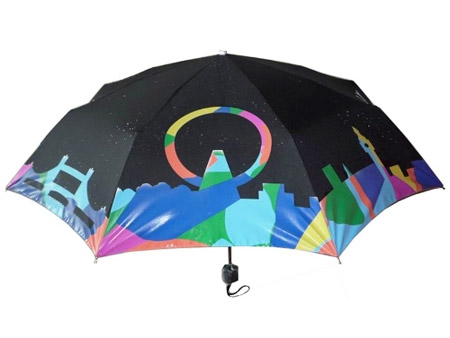 Umbrella that Changes Color