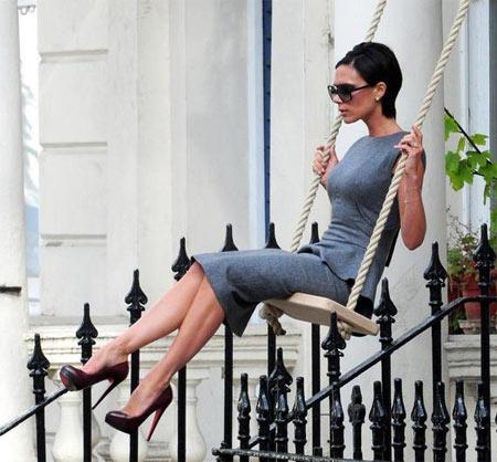 Victoria Beckham Swing Ad