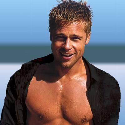 Brad Pitt Face