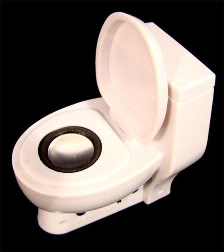 Cute Toilet Speaker