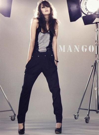 Daisy Lowe Mango Ads