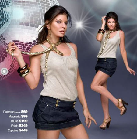 Fergie for C&A Mexico