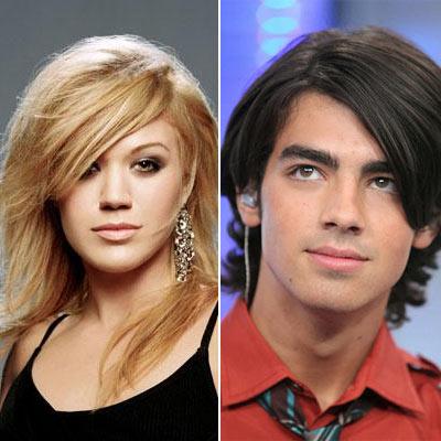 Joe Jonas and Kelly Clarkson