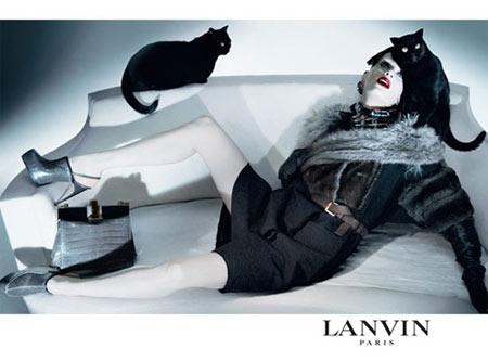 Lanvin Fall 2009 Ad Campaign