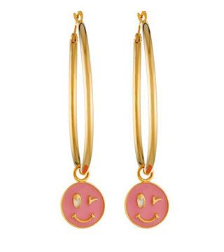 Lily Allen Smile Earrings