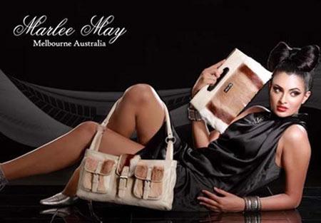 Marlee May Fur Handbag