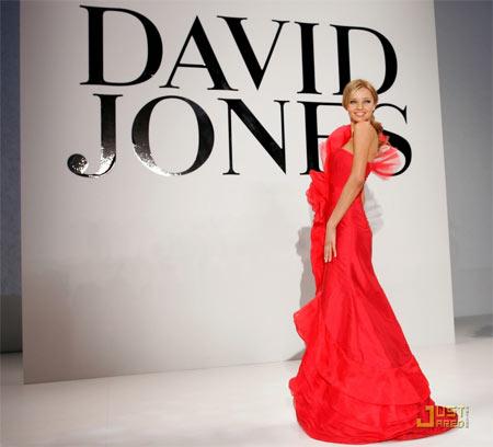 Miranda Kerr - David Jones Red Dress