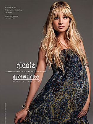 Nicole Richie Maternity Fashion Line