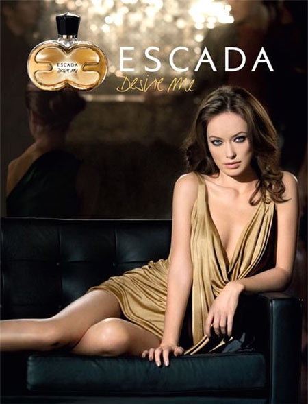 Olivia Wilde for DesireMe from Escada