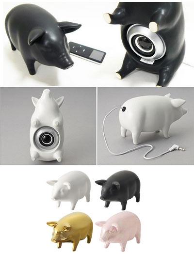 Pig Speakers