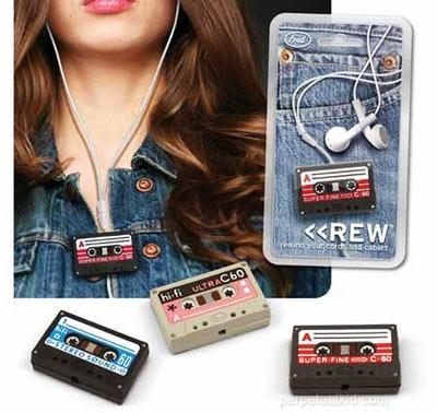 REW Headphone Cord Wrap