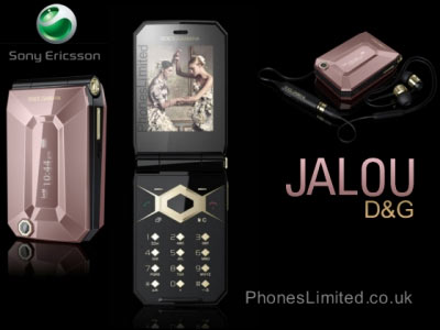 Sony Ericsson + Dolce&Gabbana = Jalou