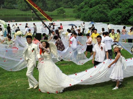 The Longest Wedding Gown