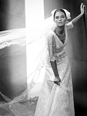 Valentino Wedding Dress with Veil