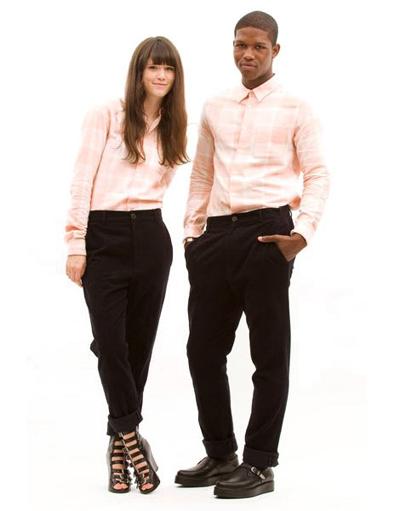 Chloe Sevigny Pink Shirt