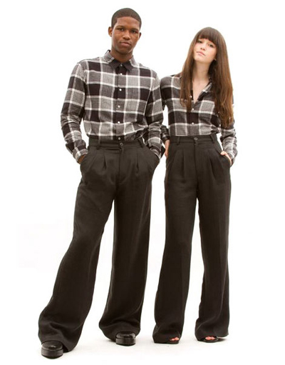 Chloe Sevigny Pleated Pants
