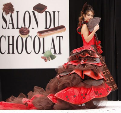 Chocolate Fashion Show Paris