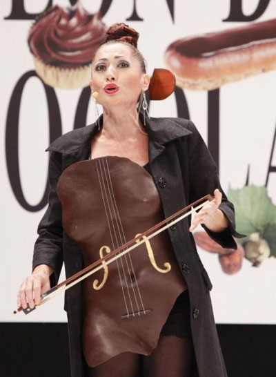 Fashion Show at Salon du Chocolat