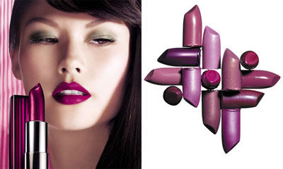 gorgeous lipstick colors in color sensational collection