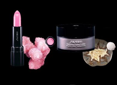 Shiseido Richrocks Lipstick and Powder