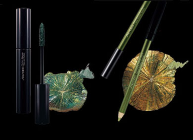 Shiseido Richrocks Mascara and Eyeliner Pencil