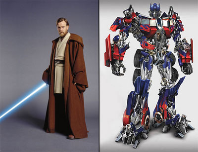 Star Wars and Transformers