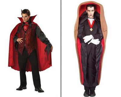 vampire and dracula - Halloween Dracula Costumes