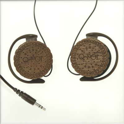 Choco Biscuit Headphone Q-pot