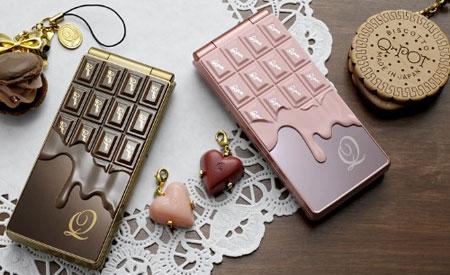 Docomo Cell Phones Chocolate