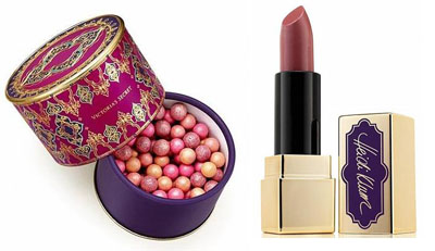 Heidi Klum Powder Gems and Lipstick