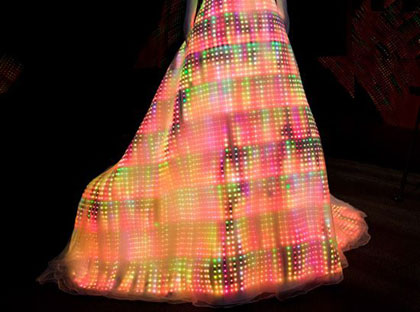 LED Dress CuteCircuit