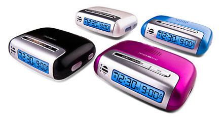 Moshi Voice Control Travel Alarm Clock