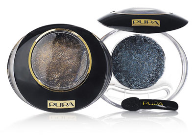 Pupa Black & Gold Eyeshadows