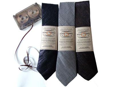 Sonic Fabric Tape Neckties