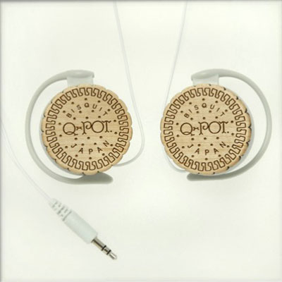 Sweet Milk Biscuit Headphone Q-pot