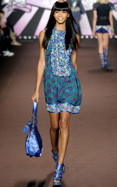 Anna Sui Spring-Summer 2010 Collection