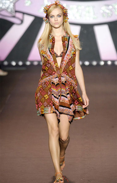 Anna Sui Spring-Summer Collection