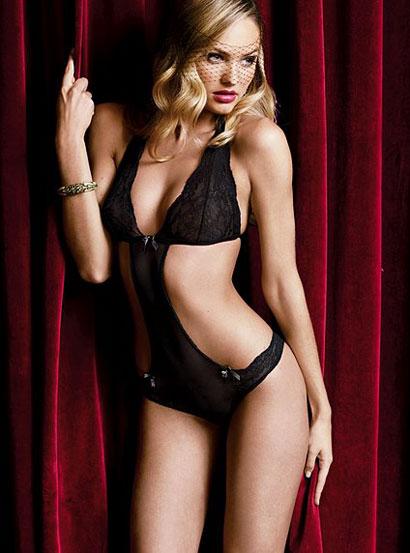 Candice Swanepoel X-mas Victoria's Secret