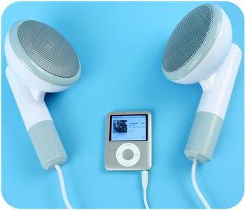 Earbud Speakers