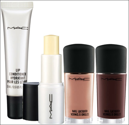 MAC Warm and Cozy Lip Conditioner and Nail Lacquer