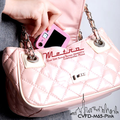 Metro Cell Phone Pink Edition