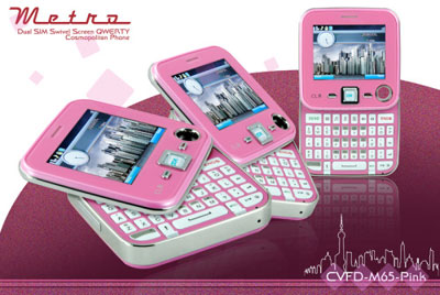 Metro Cell Phone Pink