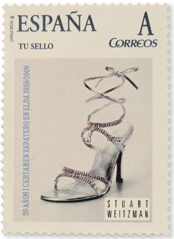 Million Dollar Shoes Mail Stamp