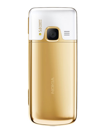 New Nokia 6700 Classic Gold Edition Back side