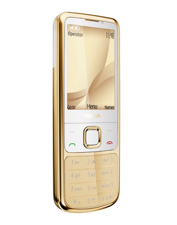 New Nokia 6700 Classic Gold Edition Front Side