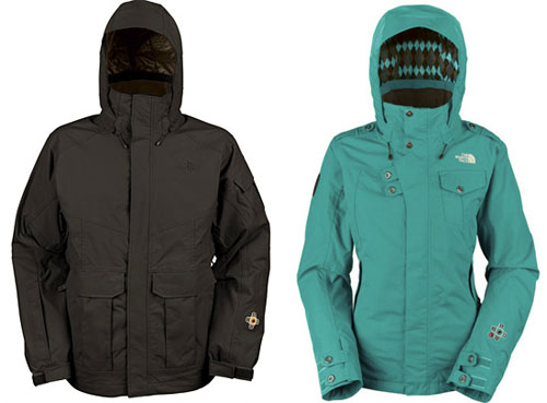 North Face iPod-Friendly Jackets