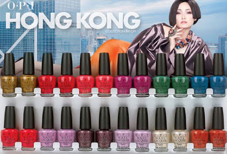 OPI Nail Polish Hong Kong