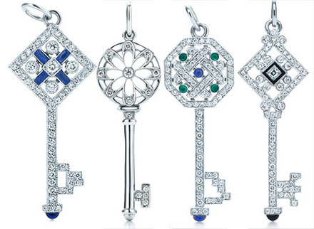 Tiffany & Co Christmas Keys