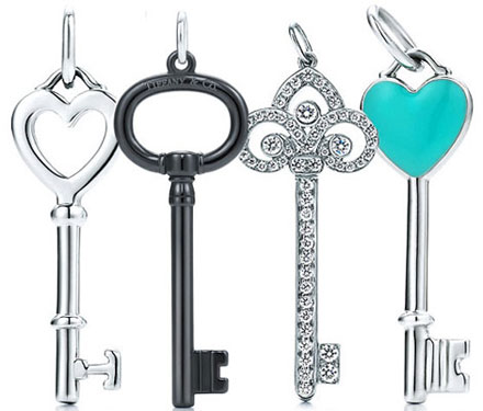 Tiffany & Co Diamond Keys