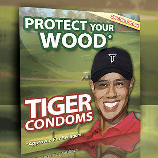 Tiger Condoms: Protect Your Wood